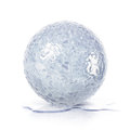Ice ball 3D illustration