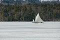 Ice Boat Royalty Free Stock Photo