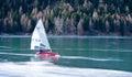 Ice-boat Royalty Free Stock Photo