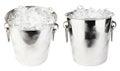Ice bucket Royalty Free Stock Photo