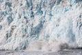 Ice Calving, Alaska Royalty Free Stock Photo