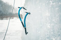 Ice climbing tool. Royalty Free Stock Photo