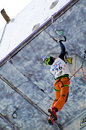 Ice Climbing World Championship Busteni 2008 Royalty Free Stock Image