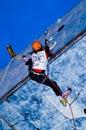 Ice Climbing World Championship Busteni 2008 Royalty Free Stock Photo