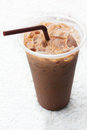Ice coffee. Royalty Free Stock Photo