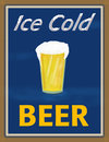 Ice Cold Beer Stock Images