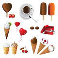 Ice cream Royalty Free Stock Photography