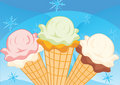 Ice-cream Royalty Free Stock Photography