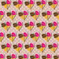 Ice cream background Stock Image