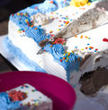 Ice cream cake Stock Images