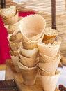 Ice cream cones Royalty Free Stock Photo