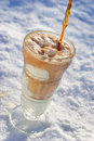 Ice Cream Float Stock Photos