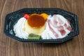 Ice cream mix. Royalty Free Stock Photo