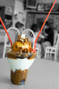 Ice Cream Sundae Royalty Free Stock Photo
