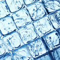 Ice cubes background Stock Photo