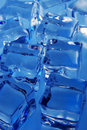 Ice cubes background Royalty Free Stock Photo