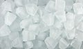 Ice cubes for background texture Royalty Free Stock Photography