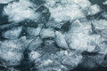 Ice floes background close up of Stock Images