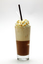 Ice frappe cappuccino Royalty Free Stock Photos