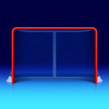 Ice hockey net Royalty Free Stock Photography