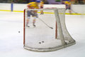 Ice hockey net Royalty Free Stock Photo