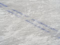 Ice hockey rink markings winter sport background wallpaper Royalty Free Stock Photography