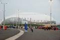 Ice hockey stadium at xxii winter olympic games sochi russia Royalty Free Stock Photos