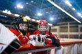 Ice hockey youth boys Royalty Free Stock Photo