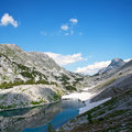 Ice lake, Triglav, Slovenia, Europe Stock Photography