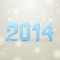 Ice new year gray background and white spots illustration Stock Images