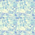 Ice seamless pattern. Crystal background