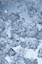 Ice shards Royalty Free Stock Photo