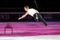 Ice skater Elvis Stojko Royalty Free Stock Photos