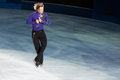Ice skater Evgeni Plushenko Stock Photography
