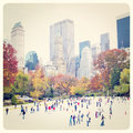 Ice skaters Royalty Free Stock Photo