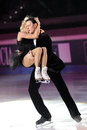 Ice skaters Tatiana Totmianina & Maxim Marinin Stock Photo