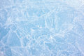 Ice texture of of baikal lake in siberia Royalty Free Stock Image