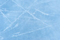 Ice texture on a skating rink Royalty Free Stock Photo