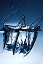 Ice and water Royalty Free Stock Photo