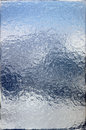 Ice window to the mountains Royalty Free Stock Photo