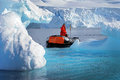 Royalty Free Stock Photo Iceberg Cruising