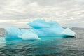Iceberg glacier bay alaska Royalty Free Stock Photo