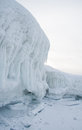 Iceberg by Lake Baikal Royalty Free Stock Image