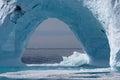 Glaciar de costa de