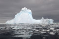 Iceberg at the ross sea with reflection Royalty Free Stock Photos