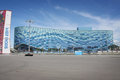 Iceberg stadium olympic park at xxii winter olympic games sochi russia june Royalty Free Stock Photography