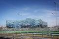 Iceberg stadium olympic park at xxii winter olympic games sochi russia june Stock Photos