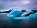 Icebergs of Alaska Royalty Free Stock Photo