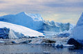 Icebergs in Greenland 22 Royalty Free Stock Photo
