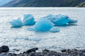Icebergs on Lago Argentino in Argentina Royalty Free Stock Photo